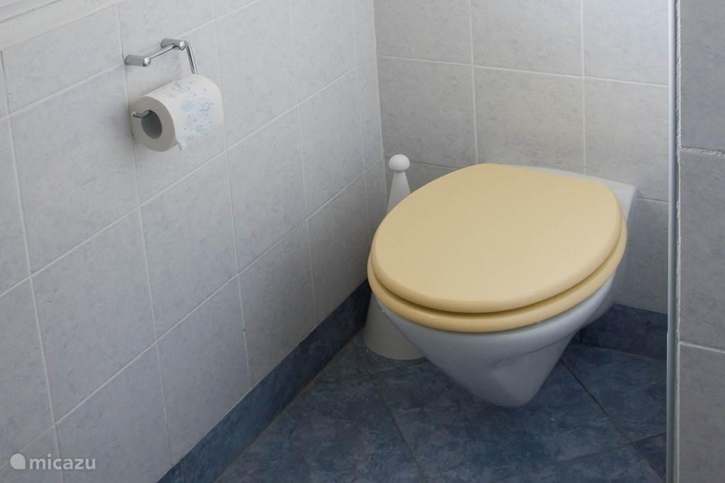 WC in badkamer