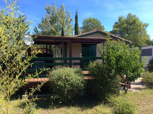 Veranda met gedeeltelijke terras overkapping
