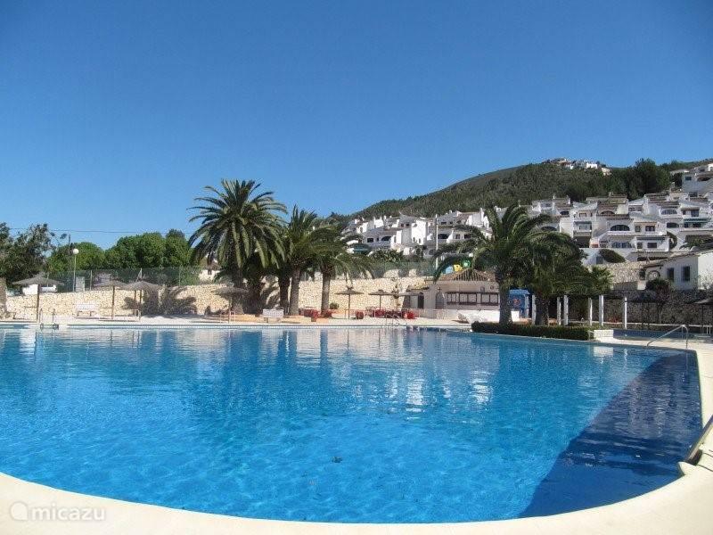 Het prachtige en gezellige zwembad van Villotel