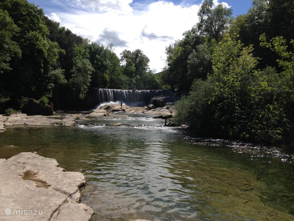 Waterfalls in the Cevennes