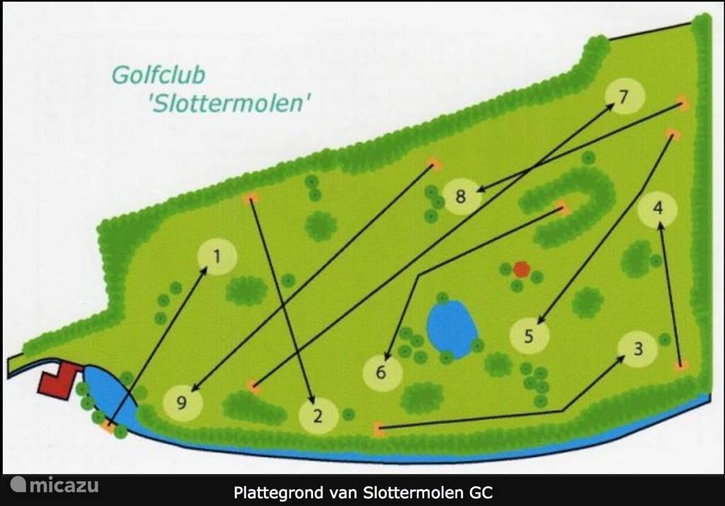 Aangrenzende privé golfbaan beschikbaar