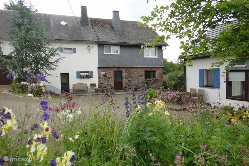 Vacation rental Belgium, Ardennes, Amel Holiday house De Buizerd with loft in Nature