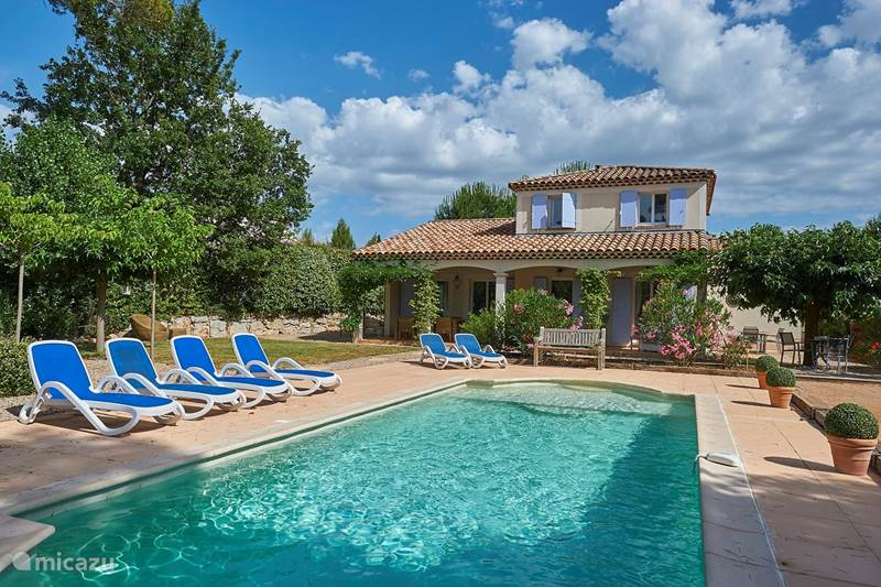 Vakantiehuis Frankrijk, Var, Nans-les-Pins Villa Vallée St. Baume - privézwembad