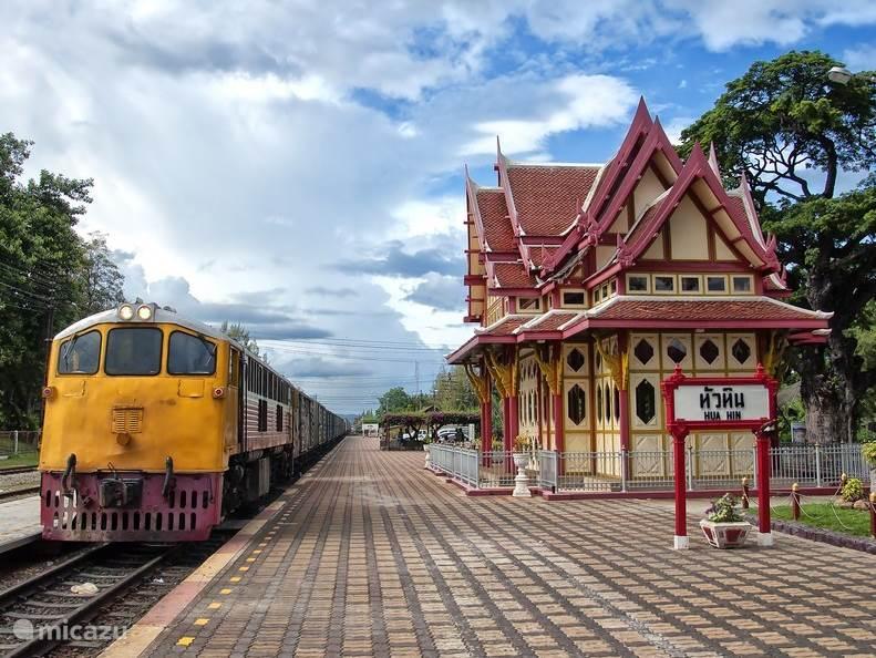 Hua Hin oude treinstation