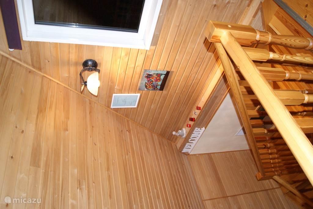 De trap naar de tweede verdieping
