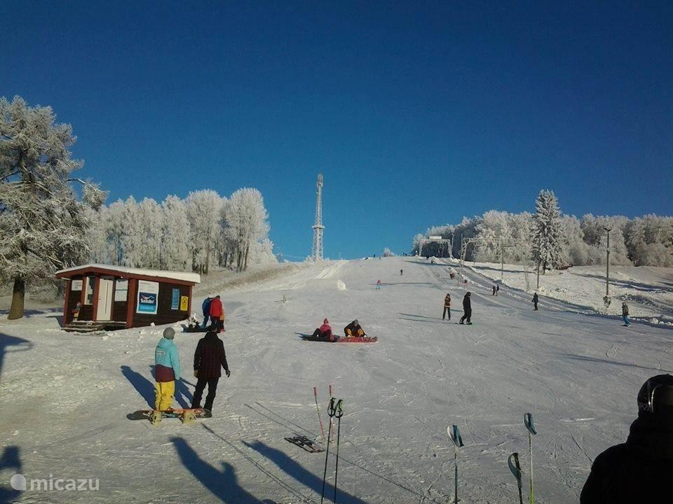 Ski gebid Kuutsemäe op 15 km afstand van het verblijf