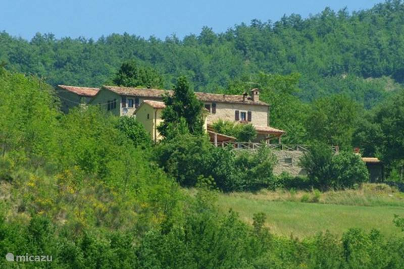 Vakantiehuis Italië, Marche, Mercatello sul Metauro Bed & Breakfast Ca'Betania Appartamento Due