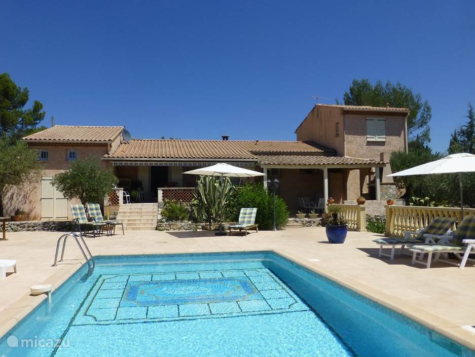 Vacation rental France, Provence, Flayosc villa Les Papillons