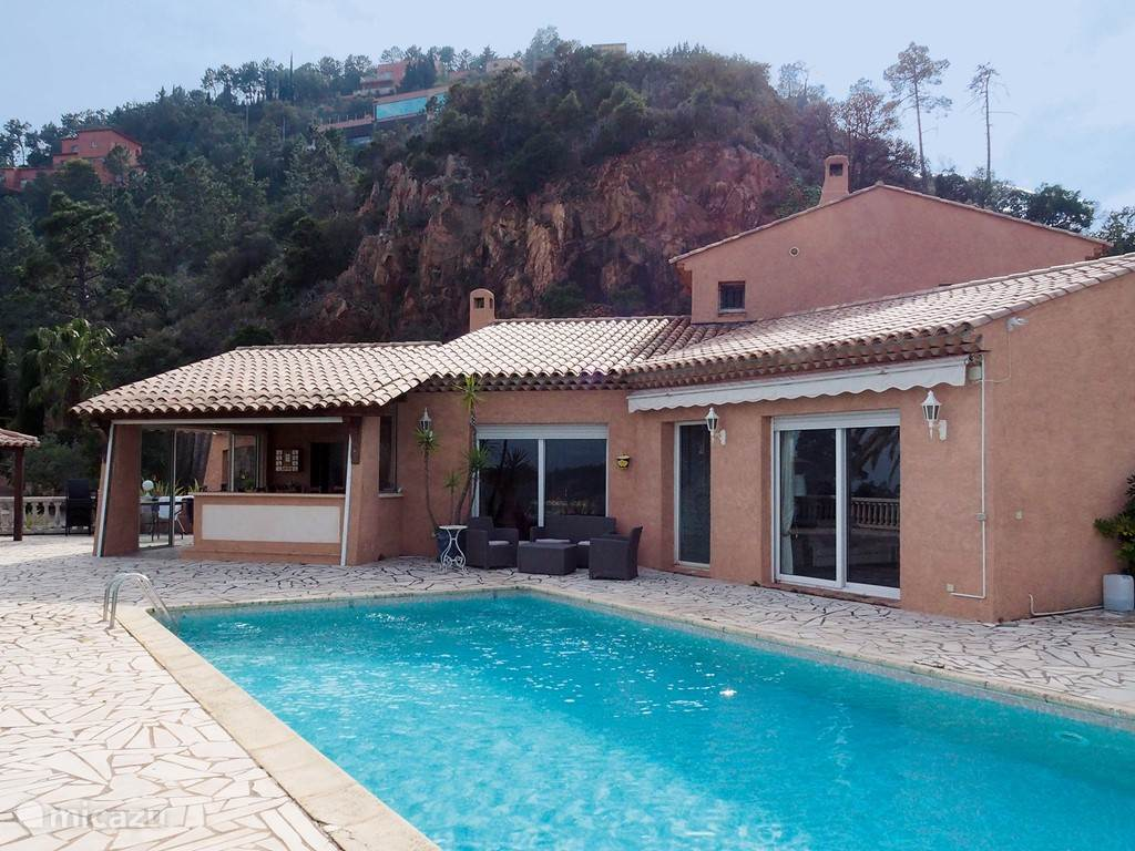 Vacation rental France, French Riviera, Théoule-sur-Mer villa Villa L'aigle