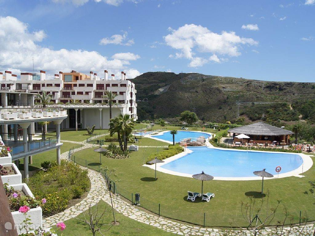 Vakantiehuis Spanje, Costa del Sol, Estepona appartement Unieke Country Club Resort