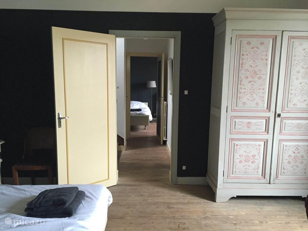 slaapkamers 1e etage