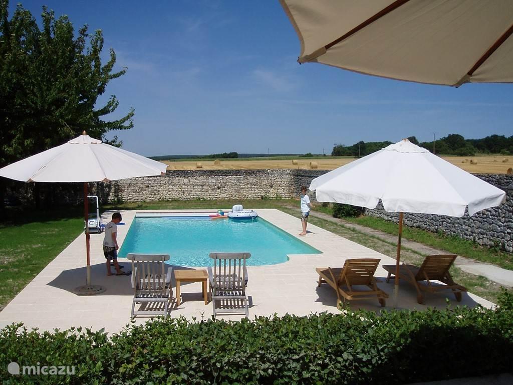 Vakantiehuis Frankrijk, Indre-et-Loire, Crouzilles Landhuis / Kasteel Les Touches