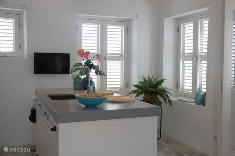 Vakantiehuis Curaçao, Curacao-Midden, Willemstad Stadswoning Kas di Laman Luxe Suite