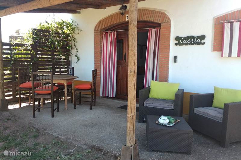 Vakantiehuis Spanje, Extremadura, Alcuéscar Gîte / Cottage Finca El Chorrillo - Casita