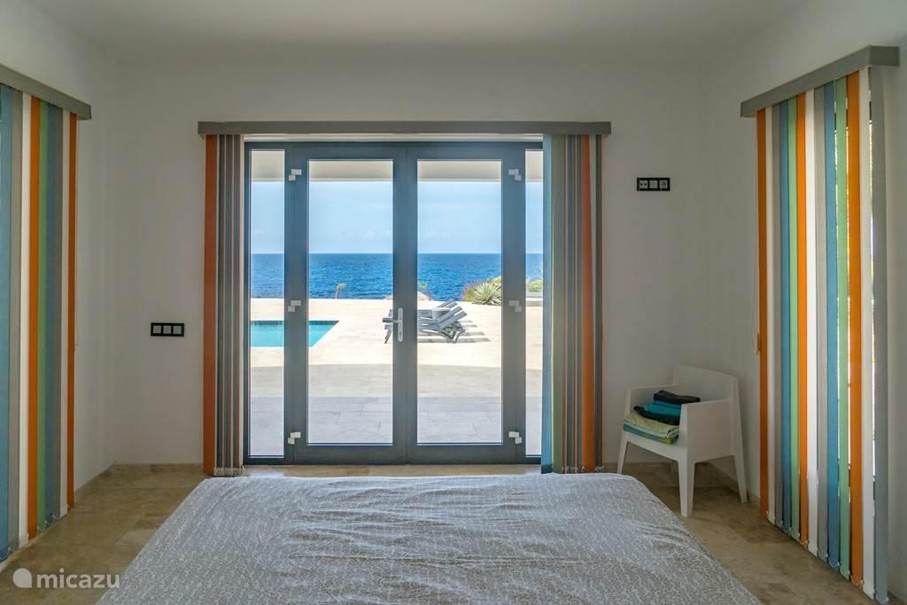 uitzicht vanuit een slaapkamer