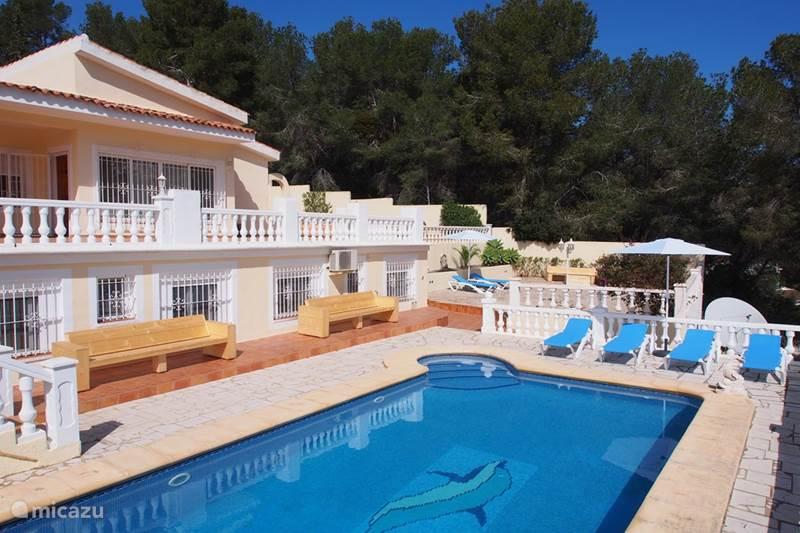 Villa catherina el portet in moraira costa blanca huren - Villa el portet ...