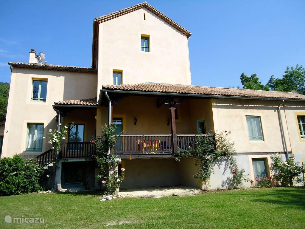 Vakantiehuis Frankrijk, Provence, Montbrun-les-Bains Appartement Villa D'Aulan (Chateau des Gipieres)