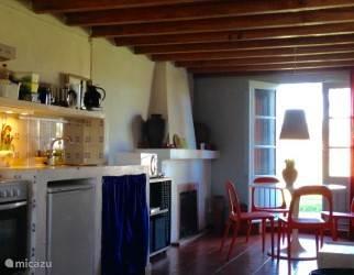 Vakantiehuis Portugal, Alentejo, Cercal do Alentejo Vakantiehuis Verdemar, Casa Azul , zwembad