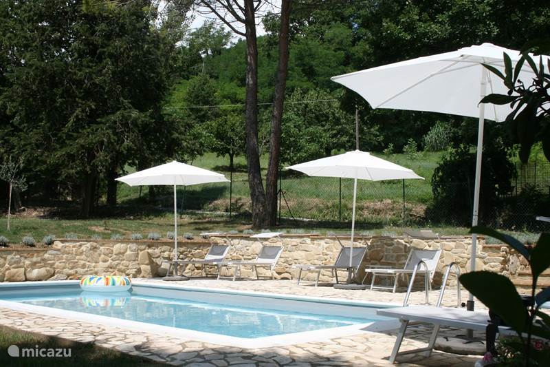 Vakantiehuis Italië, Marche, Mergo Appartement Appartement Il Bosco