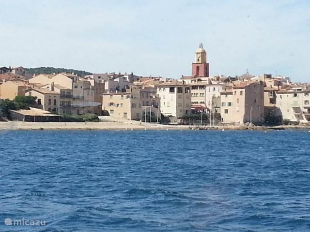 Met de veerboot in 15 min. van Ste-Maxime naar hartje Saint Tropez