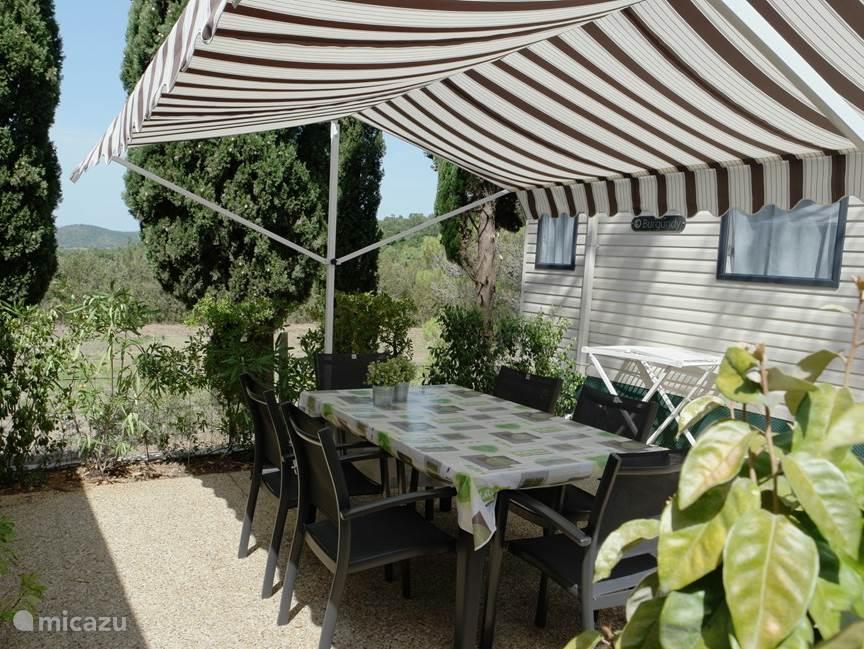 Vakantiehuis Frankrijk, Provence, La Londe-les-Maures stacaravan Luxe Stacaravan Zuid-Frankrijk