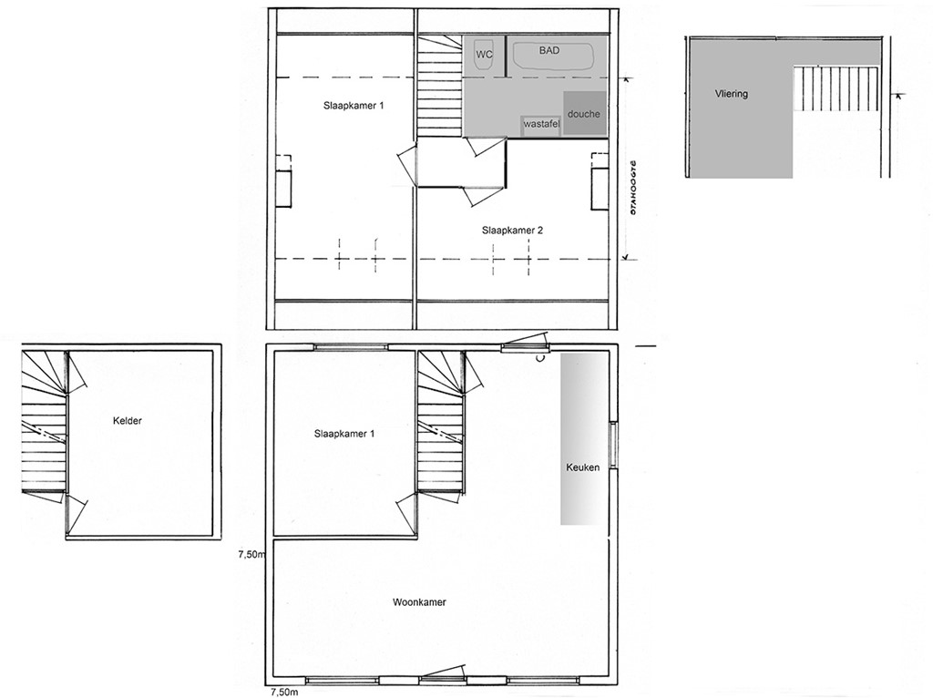 Layout Layout With Plan Maison Rectangle