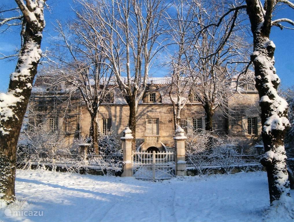 Chassenat, een plaatje in de winter ...