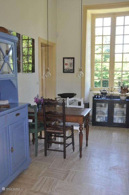 De keuken, een knusse plek.