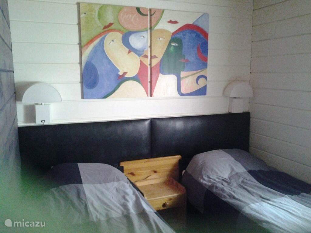 ouderslaapkamer  2 eenpersoonsbedden