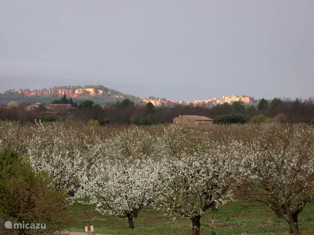 uitzicht op Roussillon