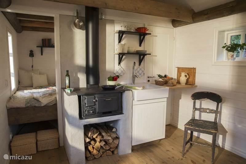 Vakantiehuis Zweden, Västergötland, Torestorp Blokhut / Lodge Lycka