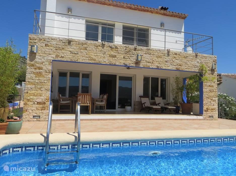 Vakantiehuis Spanje, Costa Blanca, Alcalali - villa Casa Encantada