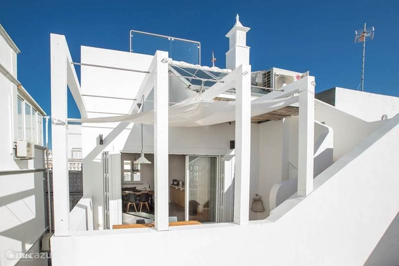Vakantiehuis Portugal, Algarve, Olhão Vakantiehuis Casa Opala 'Townhouse'