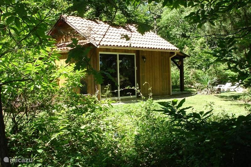 Vakantiehuis Frankrijk, Dordogne, Rouffignac Blokhut / Lodge Cabane au Bois
