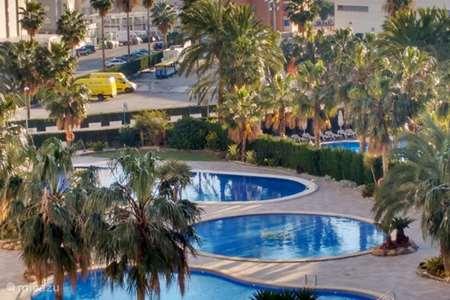 Vakantiehuis Spanje, Costa Blanca, Calpe - appartement Coral beach