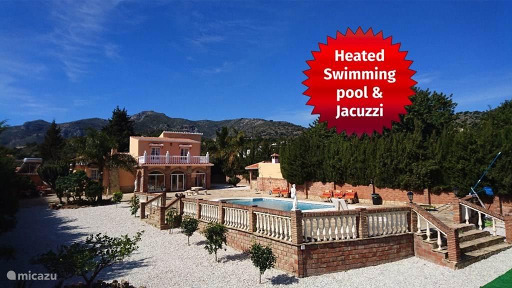 Vakantiehuis Spanje, Costa del Sol, Malaga Villa Villa met zeezicht en privé zwembad