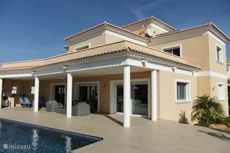 Vacation rental Spain, Costa Blanca, Calpe villa Casa Dylano