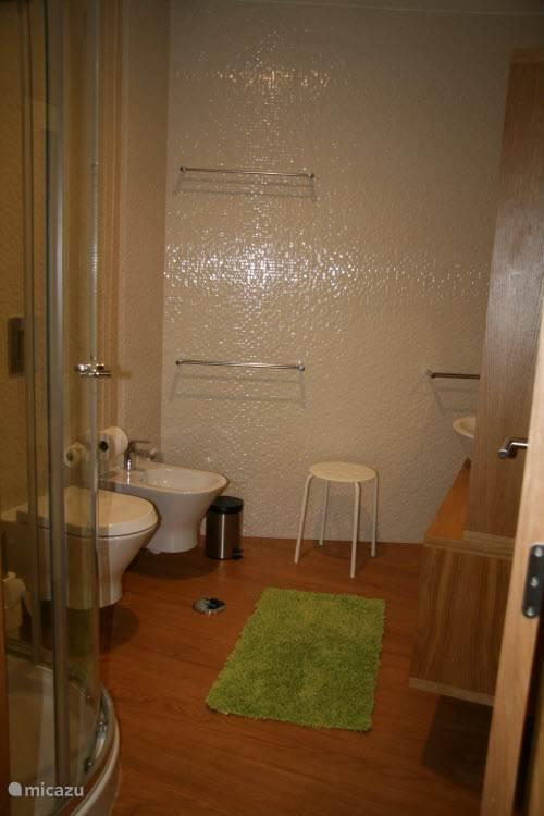 De grotere badkamer