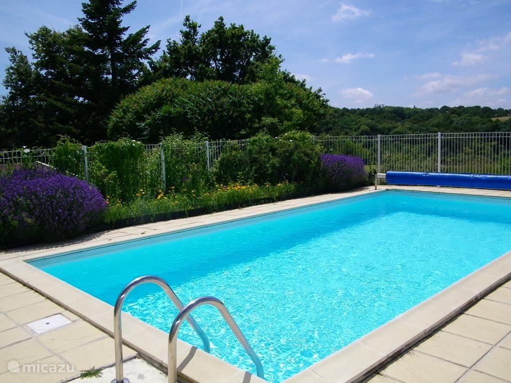 gedeeld zwembad