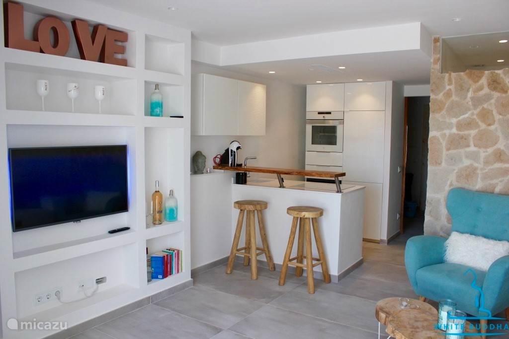 appartement white buddha in cala tarida, ibiza, spanien mieten? | micazu