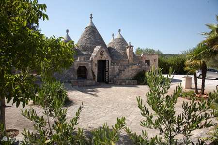 Vakantiehuis Italië, Apulië, Ostuni vakantiehuis Trullo del Attore