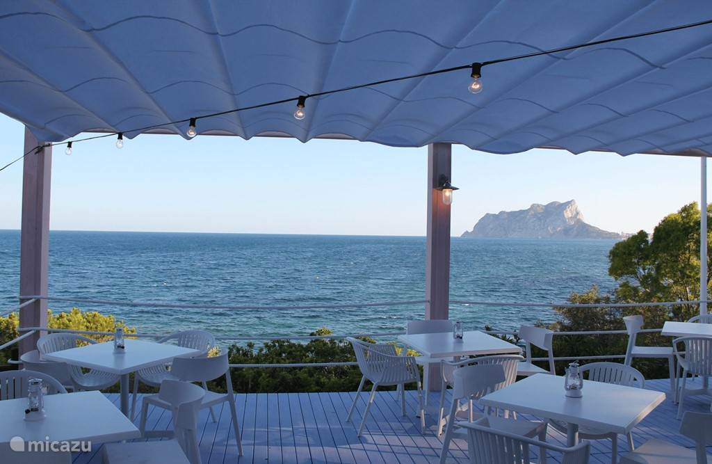 Restaurant/bar in Cala Baladrar