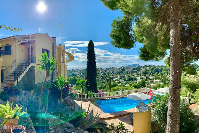 Vakantiehuis Spanje, Costa Blanca, Moraira Villa Villa Robis Moraira