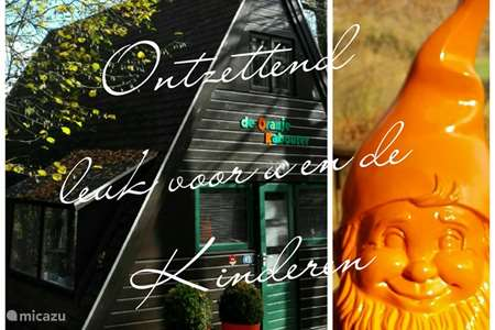 Vacation rental Belgium, Ardennes, Durbuy bungalow Orange Leprechaun