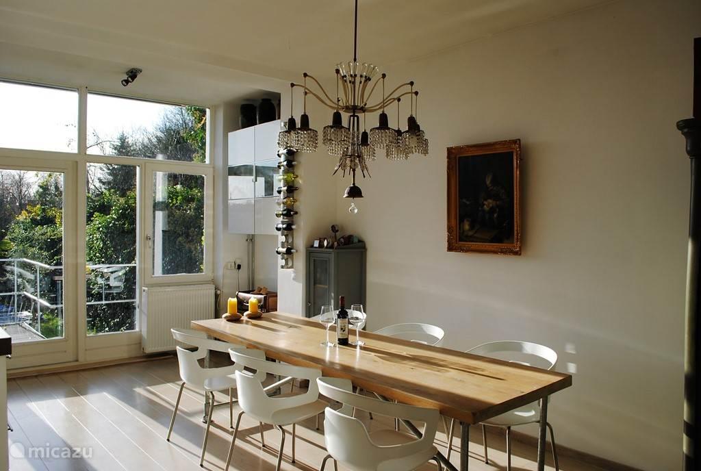 keuken met openslaande deuren