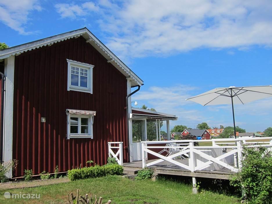 Vakantiehuis Zweden, Blekinge, Listerby Gîte / Cottage Rose Torp