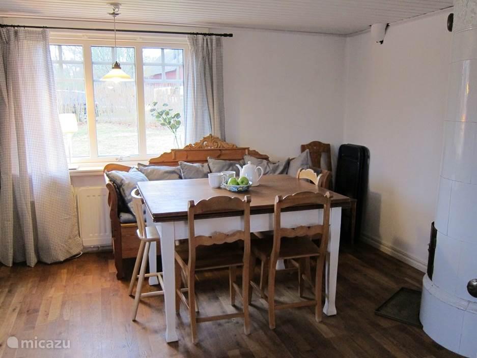 Zitplaats in de keuken