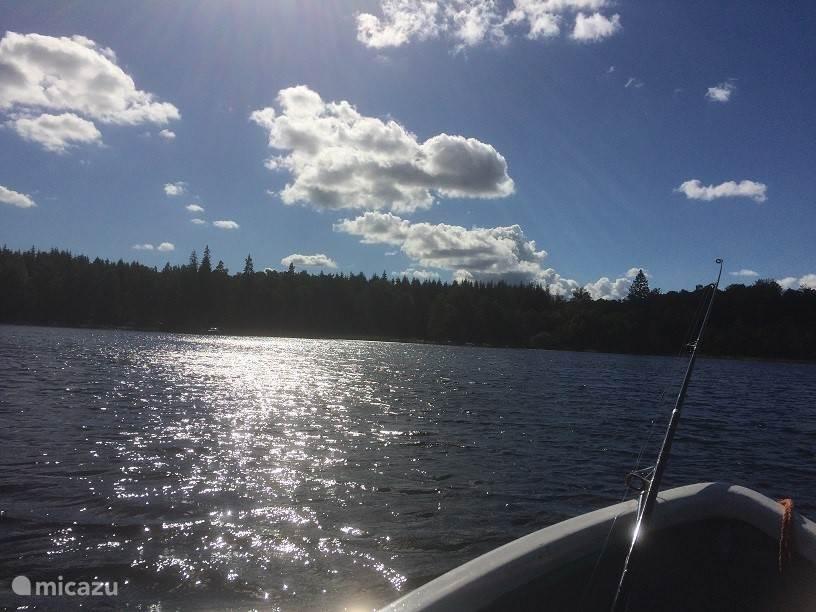 Een geweldig meer om te vissen!