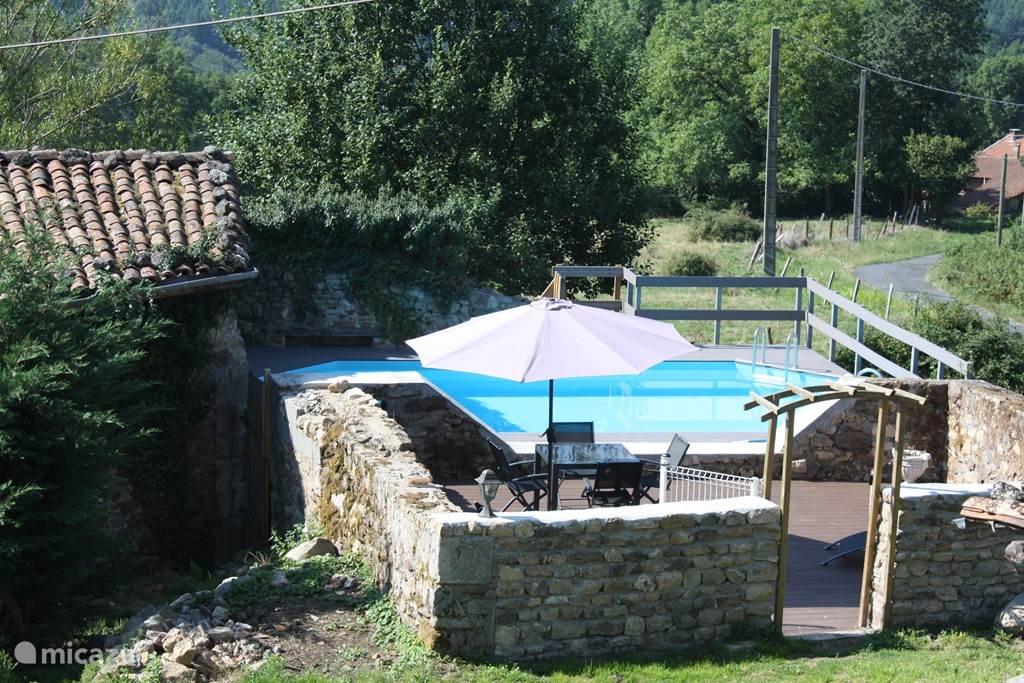 zwembad (8 x 4 meter)