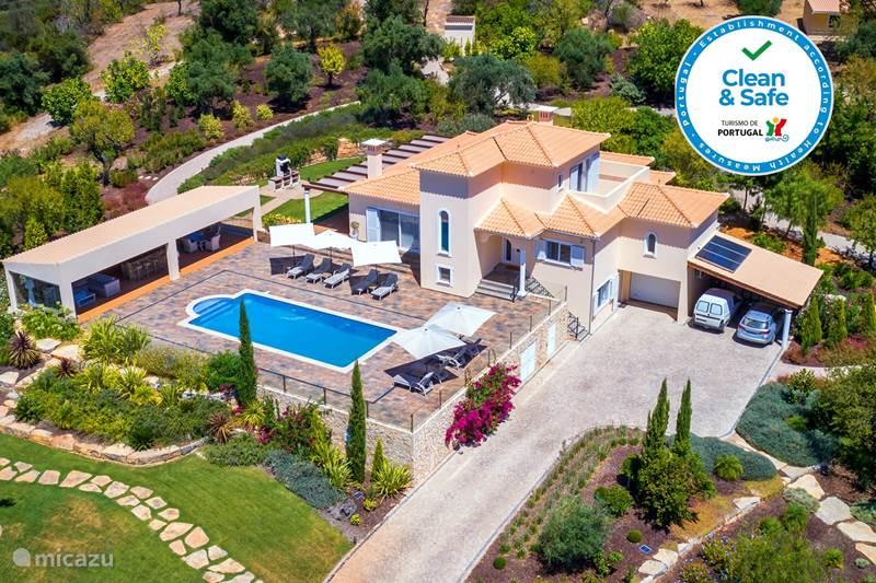 Vakantiehuis Portugal, Algarve, Loulé Villa Casa da Rosa Top Villa Verwarmd Bad